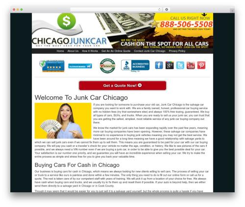 WP theme Kelly Car Buyer 1.0 - junkcarchicago.com