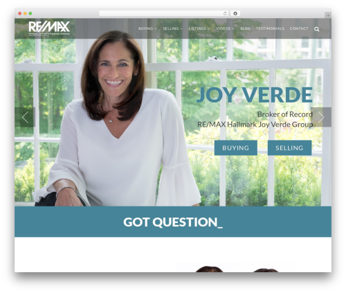Burst WordPress theme - joyverde.com