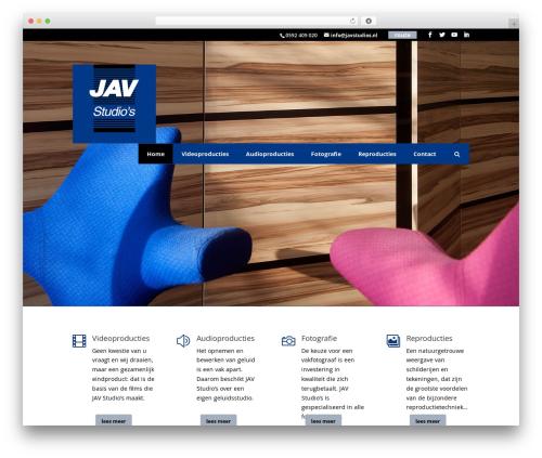 Divi best WordPress video theme - javstudios.nl