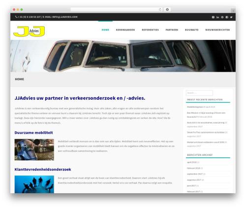 Formation best free WordPress theme - jjadvies.com