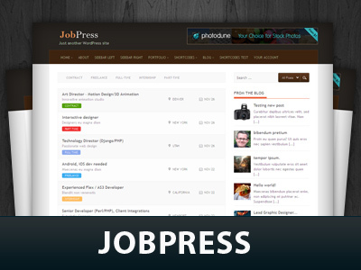 Jobpress WP theme