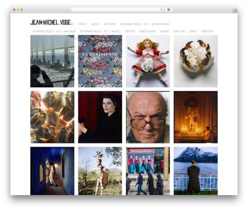 Photojax best WordPress theme - jmvoge.fr