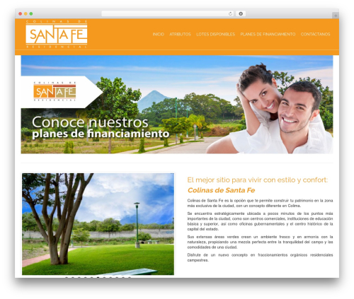 Pinnacle free WP theme - colinasdesantafecolima.com