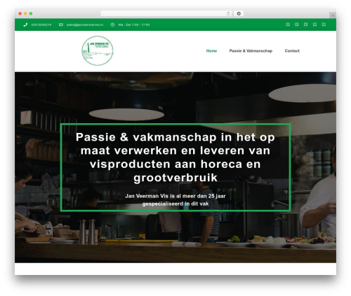 Theme WordPress The Retailer - janveermanvis.nl