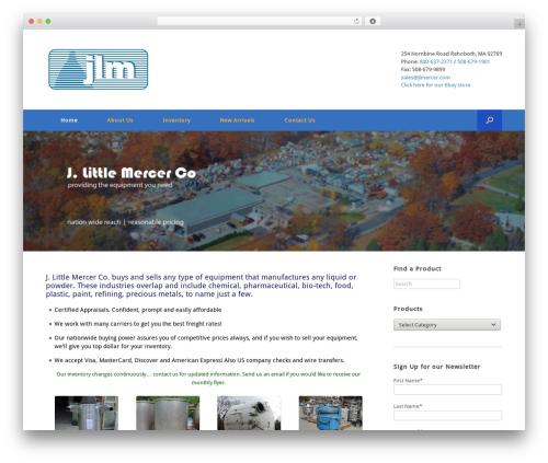 Vantage Premium WordPress theme free download - jlmercer.com