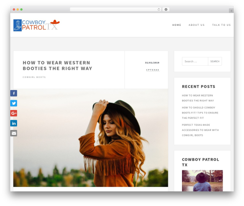 WordPress theme Culture - cptexas.us