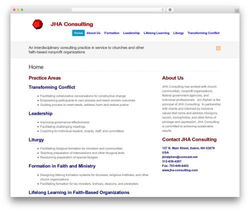 WP-Brilliance theme WordPress - jha-consulting.com