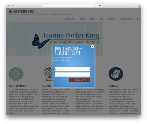 AccessPress Root Pro template WordPress - jeanneporterking.com