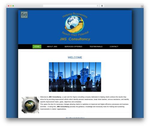 Creativo 4.0 company WordPress theme - jms4lss.com