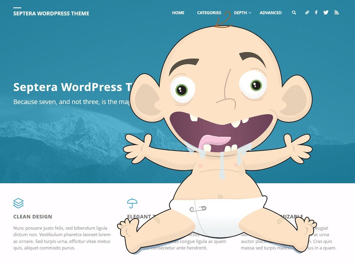 Septera Child theme WordPress