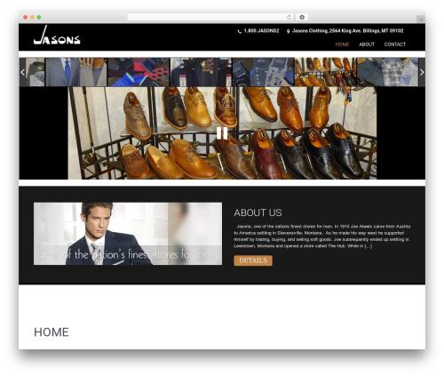 SKT Coffee WordPress template - jasonsclothingformen.com