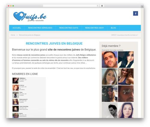SociallyViral free WP theme - juifs.be