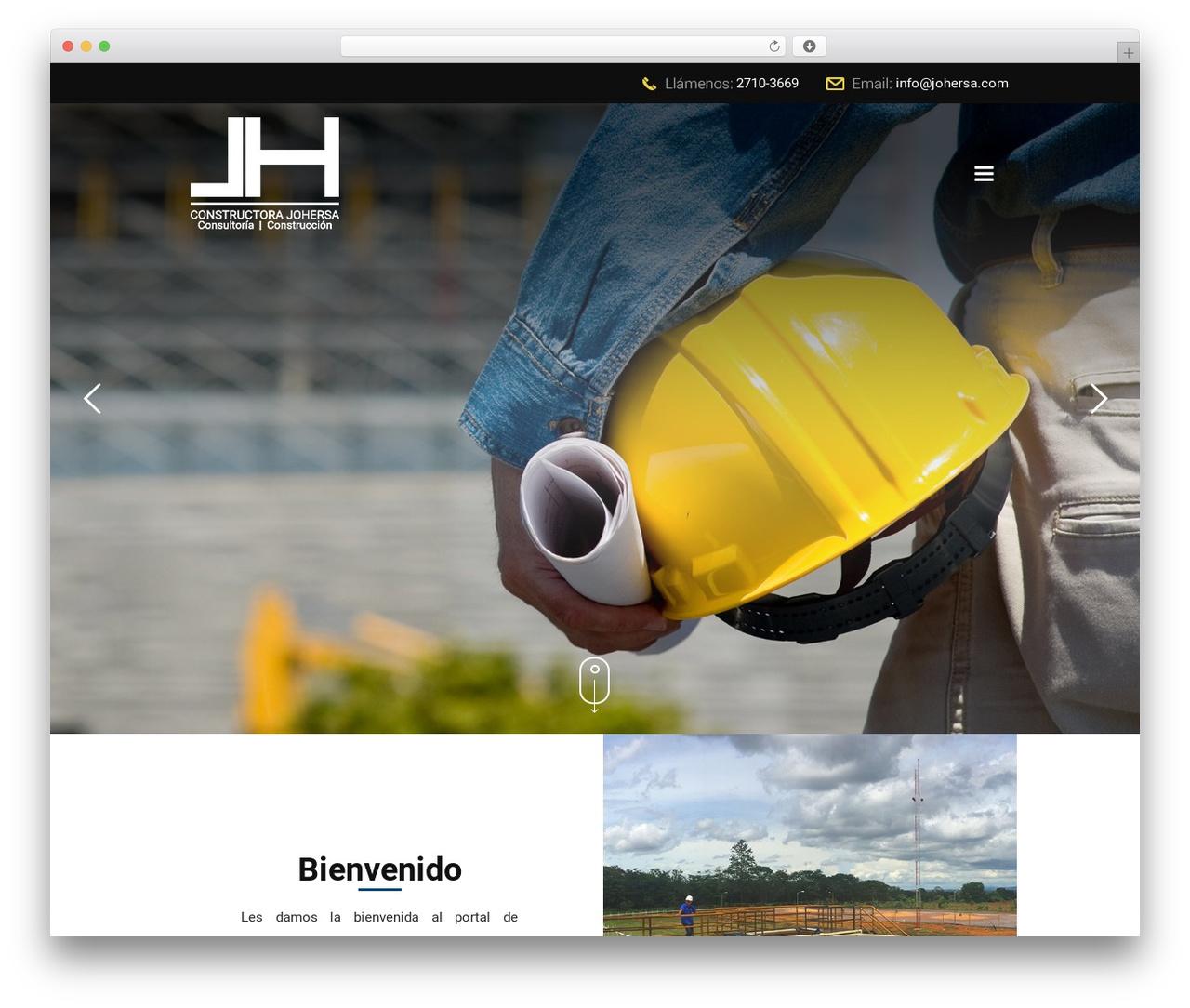 Template WordPress Betheme - johersa.com