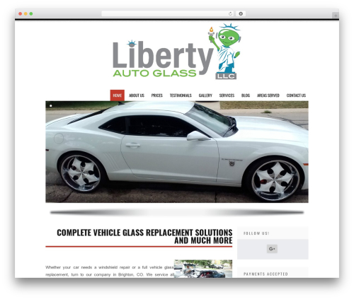 Tesla template WordPress free - jrrafsautoglass.com