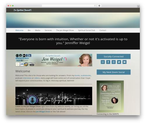 Free WordPress Testimonials plugin - jenweigel.com