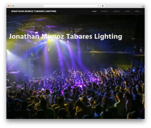 WordPress template Harmonic - jtmlighting.com
