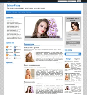 AdsenseCenter WordPress theme design