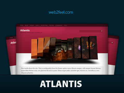Altantis WordPress theme