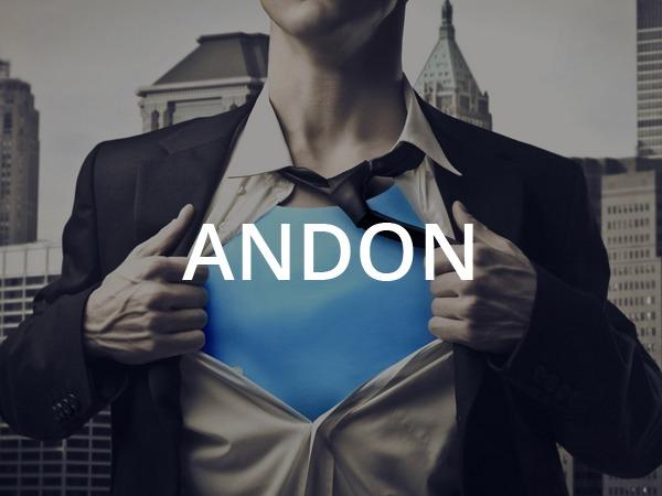 Andon template WordPress