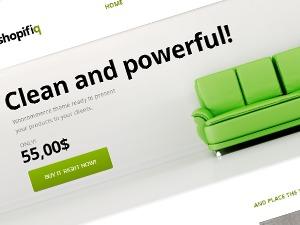 Anps's Shopifiq WordPress shopping theme