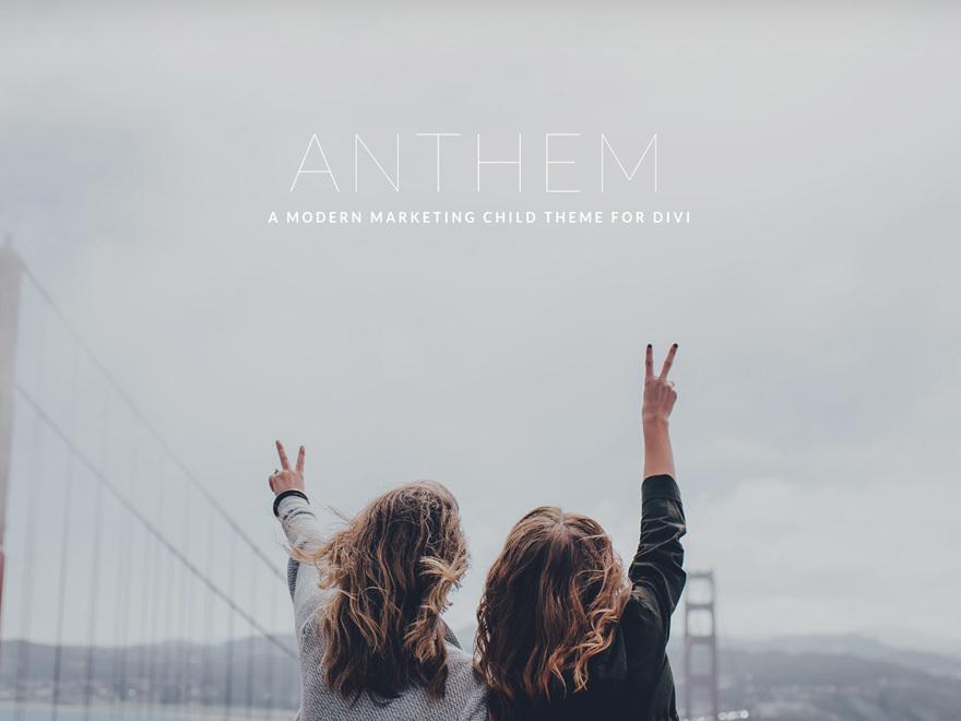 ANTHEM theme WordPress
