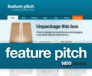Best WordPress template Feature Pitch