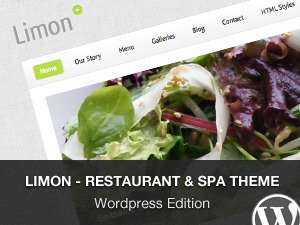 Best WordPress template Limon - WordPress Edition