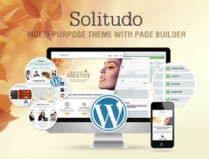 Best WordPress template Solitudo