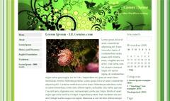 Best WordPress theme Green Theme