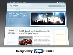 Best WordPress theme Open Air