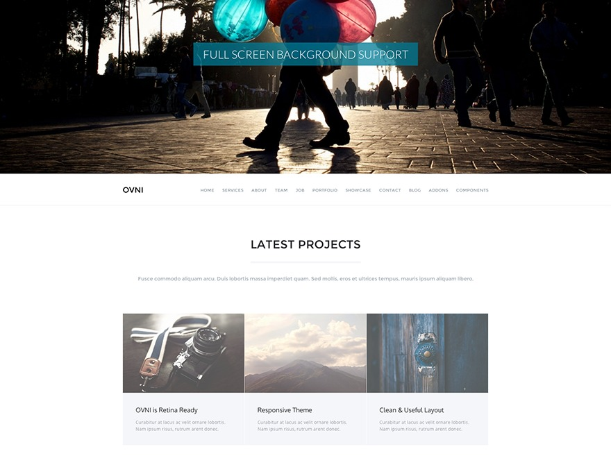 Best WordPress theme Totemic