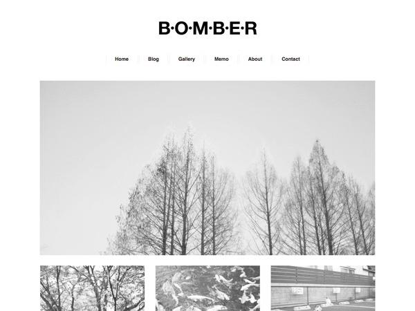 BOMBER theme WordPress