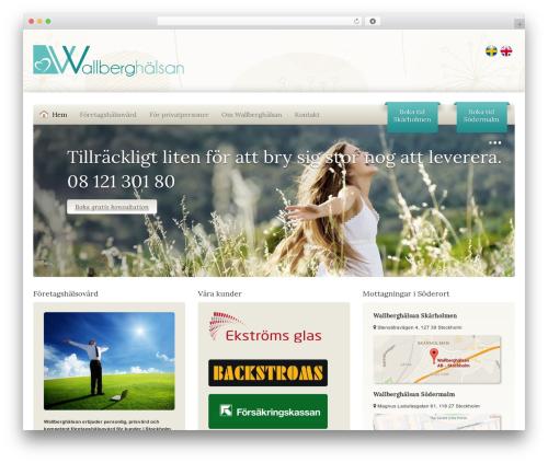 WordPress sitepress-multilingual-cms plugin - wallberghalsan.se