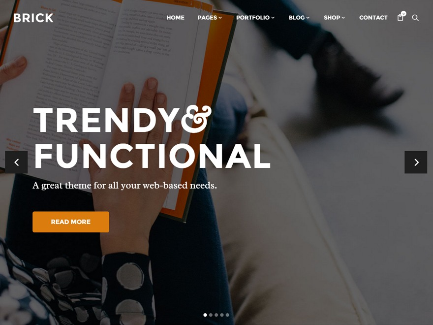 Brick Child WordPress theme