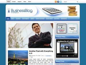 BusinessBlog company WordPress theme