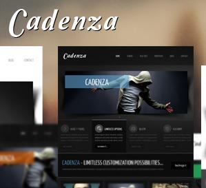 Cadenza company WordPress theme