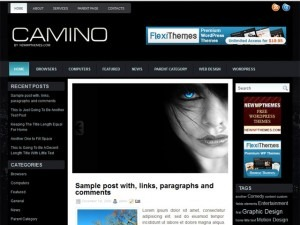 Camino WordPress theme