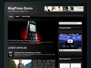 Cellular WordPress theme