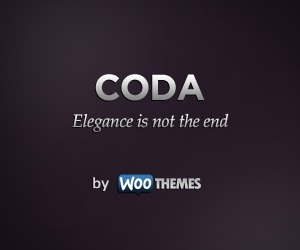 Coda WordPress page template