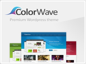Colorwave WordPress theme