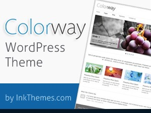 ColorWay Theme photography WordPress theme