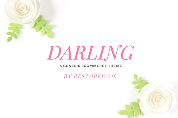 Darling Theme WordPress shop theme