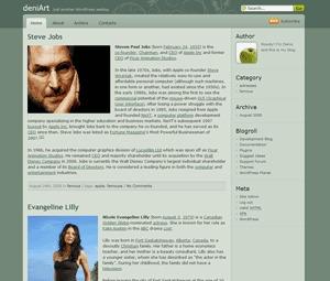 Devart theme WordPress