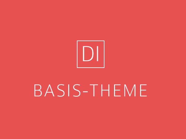 DI Basis 2.7.3 WordPress template