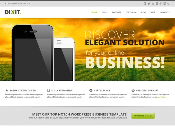 Dixit | Multipurpose Wordpress Theme business WordPress theme