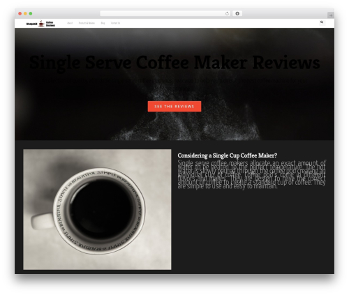 DMS WordPress theme - wedgehillcoffee.com
