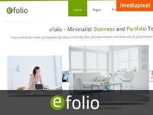 efolio WordPress template for business