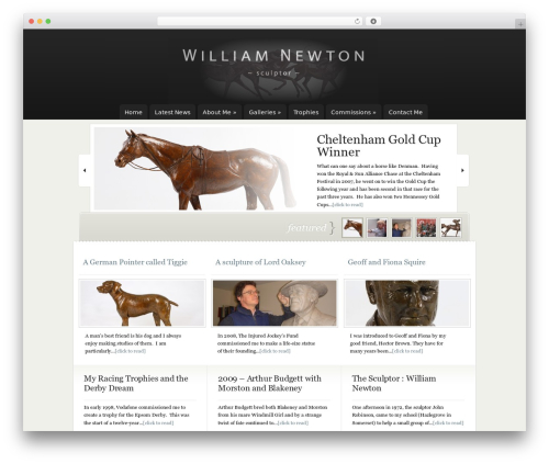 WordPress collision-testimonials plugin - williamnewtonsculptor.com