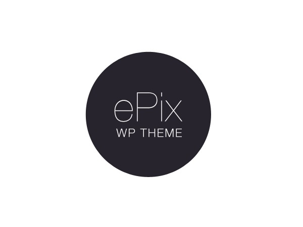 ePix Child Theme WordPress page template
