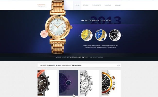 Essential WooCommerce Auction Theme WordPress store theme
